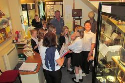 Haleaworth Museum, Suffolk, school visit