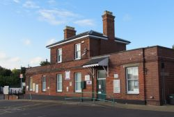 Halesworth Museum, Suffolk, Station Building